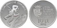 10 Deniers 1993. ANDORRA  Polierte Platte.  25,00 EUR  Excl. 6,70 EUR Verzending