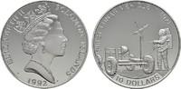 10 Dollars 1992. SALOMON ISLANDS Elisabeth II. seit 1952. Polierte Plat... 21,00 EUR  Excl. 6,70 EUR Verzending