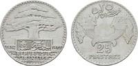 25 Piastres 1936. LIBANON Republik seit 1926. Sehr schön.  25,00 EUR  zzgl. 4,50 EUR Versand