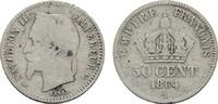 50 Centimes 1864 A FRANKREICH Napoléon III, 1852-1870. Sehr schön -  10,00 EUR  zzgl. 4,50 EUR Versand