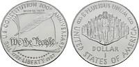 1 Dollar 1990 W USA  Stempelglanz  18,00 EUR  zzgl. 4,50 EUR Versand