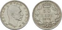50 Para 1915 SERBIEN Peter I., 1903-1918. Vorzüglich -  8,00 EUR  zzgl. 4,50 EUR Versand