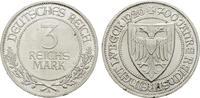 3 Reichsmark 1926, F. WEIMARER REPUBLIK  Vorzüglich-stempelglanz.  155,00 EUR  zzgl. 4,50 EUR Versand