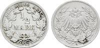1/2 Mark 1917, F. Deutsches Reich  Vorzüglich-stempelglanz  80,00 EUR  zzgl. 4,50 EUR Versand