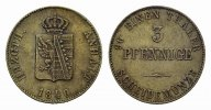 ANHALT Ku.-3 Pfennig 1840. Vorz&uuml;glich ANHALT-K&Ouml;THEN, F&Uuml;RSTENTUM, SEIT 18... 35,00 EUR 