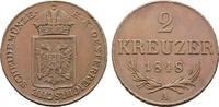 Ku.-2 Kreuzer 1848, A. KAISERREICH ÖSTERREICH Revolution in den Erbland... 100,00 EUR