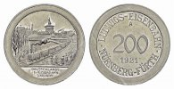 BAYERN 200 (Alu) 1921, A. Stempelglanz N&uuml;rnberg. 25,00 EUR 