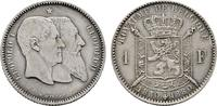 BELGIEN 1 Franc 1880. Vorz&uuml;glich-stempelglanz K&Ouml;NIGREICH BELGIEN Leopold... 80,00 EUR 