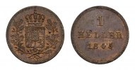 BAYERN Pfennig HERZOGTUM, SEIT 1623 KURFRSTENTUM, SEIT 1806 KNIGREICH Ludwig I., 1825-1848.