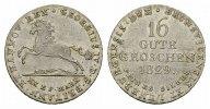 16 Gute Groschen 1829. BRAUNSCHWEIG-LÜNEB. Georg IV., 1820-1830. Stempe... 195,00 EUR  excl. 6,70 EUR verzending