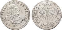 6-Gröscher 1686, Königsberg. BRANDENBURG-PREUSSEN Friedrich Wilhelm, de... 340,00 EUR  Excl. 6,70 EUR Verzending