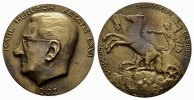 NUMISMATIKER Bronzene Gu&szlig;medaille (Rem&eacute;nyi) 1962. Frischer Gu&szlig; &Ouml;STERREIC... 60,00 EUR 