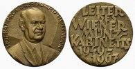 NUMISMATIKER Bronzemedaille (Weiz) 1967. Pr&auml;gefrisch Holzmair, Prof. Dr.... 70,00 EUR 