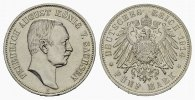 REICHSSILBERM&Uuml;NZEN 5 Mark 1914 E Fast Stempelglanz SACHSEN Friedrich Aug... 120,00 EUR 