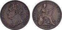 Farthing 1825. GROSSBRITANNIEN George IV, 1820-1830. Randstab-Druckstel... 75,00 EUR  Excl. 6,70 EUR Verzending
