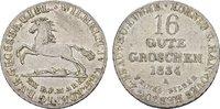 16 Gute Groschen 1834. BRAUNSCHWEIG-LÜNEB. Wilhelm IV., 1830-1837. Vorz... 140,00 EUR  Excl. 6,70 EUR Verzending