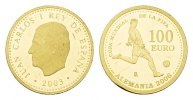 100 Euro 2003. Spanien Juan Carlos I., 1975-2014. Polierte Platte -.  265,00 EUR  excl. 6,70 EUR verzending