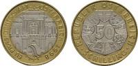 50 Schilling 1998. REPUBLIK ÖSTERREICH  Stempelglanz  6,00 EUR  Excl. 7,00 EUR Verzending