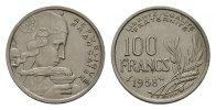 100 Francs 1958. FRANKREICH 4. Republik, 1945-1958. Sehr schön  120,00 EUR  Excl. 6,70 EUR Verzending