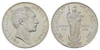 Doppelgulden 1855. BAYERN Maximilian II., 1848-1864. Stempelglanz- /  S... 145,00 EUR  zzgl. 4,50 EUR Versand