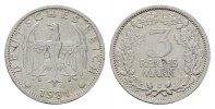 3 Reichsmark 1931, E. WEIMARER REPUBLIK  Vs kl. Schrtl.Fehler. Sehr sch... 295,00 EUR  zzgl. 4,50 EUR Versand