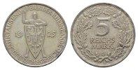 5 Reichsmark 1925, D. WEIMARER REPUBLIK  Vs. Kl. Rdf. Vorzüglich  95,00 EUR  Excl. 6,70 EUR Verzending