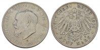 5 Mark 1914, D. Bayern Ludwig III., 1913-1918. Fast Vorzüglich  145,00 EUR  zzgl. 4,50 EUR Versand