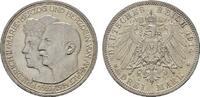 3 Mark 1914, A. Anhalt Friedrich II., 1904-1918. Fast Stempelglanz  85,00 EUR  Excl. 6,70 EUR Verzending