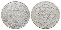 10 Dirhams AH 1329. MAROKKO Al-Hafiz , AH 1325-1330 (1907-1912). Vorzüg... 120,00 EUR  Excl. 6,70 EUR Verzending