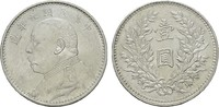 Dollar Jahr 9 (1920). CHINA  Fast Stempelglanz/Stempelglanz.  170,00 EUR  Excl. 6,70 EUR Verzending