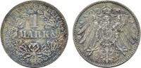 1 Mark 1916, F. Deutsches Reich  Stempelglanz  350,00 EUR  zzgl. 4,50 EUR Versand