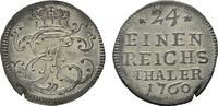 1/24 Taler 1760. SACHSEN Ernst Friedrich Karl, 1745-1780. Kl. Schrötl.R... 90,00 EUR  Excl. 6,70 EUR Verzending