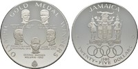 25 Dollars 1980. JAMAIKA Elizabeth II. seit 1952. Polierte Platte.  92,00 EUR  excl. 6,70 EUR verzending