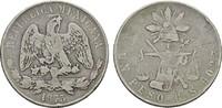 1 Peso 1873 G° S MEXIKO Republik, 1867-1905. Sehr schön  85,00 EUR