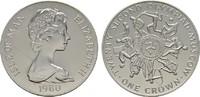 Crown 1980. GROSSBRITANNIEN Elizabeth II seit 1952. Polierte Platte.  19,00 EUR  Excl. 7,00 EUR Verzending