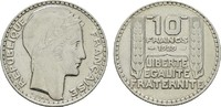 10 Francs 1929. FRANKREICH 3. Republik, 1870-1940. Sehr schön-vorzüglic... 7,00 EUR  zzgl. 4,50 EUR Versand