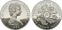Crown 1980. GROSSBRITANNIEN Elizabeth II seit 1952. Polierte Platte.  21,00 EUR  Excl. 6,70 EUR Verzending