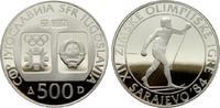 500 Dinara 1984. JUGOSLAWIEN  Polierte Platte.  20,00 EUR