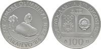 100 Dinara 1983. JUGOSLAWIEN  Polierte Platte.  10,00 EUR  zzgl. 4,50 EUR Versand