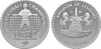 10 Maloti 1982. LESOTHO Moshoeshoe II., 1966-1990. Polierte Platte.  16,00 EUR