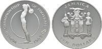10 Dollars 1982. JAMAIKA Elizabeth II. seit 1952. Polierte Platte.  15,00 EUR