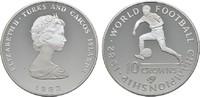 100 Crowns 1982. TURKS AND CAICOS ISLANDS Elizabeth II. seit 1952. Poli... 15,00 EUR