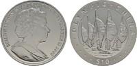 10 Dollars 2008. BRITISH VIRGIN ISLANDS Elizabeth II. seit 1952. Polier... 20,00 EUR