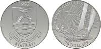 20 Dollars 1992. KIRIBATI Republik. Polierte Platte.  20,00 EUR  Excl. 6,70 EUR Verzending