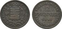 Ku.-2 Pfennig 1841 C SACHSEN Ernst I., 1826-1844. Sehr schön  15,00 EUR