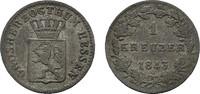 Kreuzer 1843 HESSEN Ludwig II., 1830-1848. Fast sehr schön  7,00 EUR