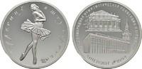 Silbermedaille (3 Rubel Größe) 1994 RUSSLAND Ballerina / Münzkongress S... 125,00 EUR