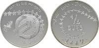 1/4 Euro 2002 FRANKREICH  Polierte Platte  23,00 EUR