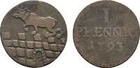 Ku.-Pfennig 1793. ANHALT Friedrich Albrecht, 1765-1796. Fast sehr schön.  13,00 EUR  Excl. 6,70 EUR Verzending