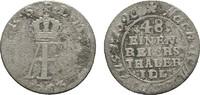 1/48 Taler 1763, Stralsund. STRALSUND Unter Schweden. Adolf Friedrich, ... 14,00 EUR  excl. 6,70 EUR verzending